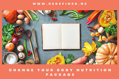 Change Your Body Nutrition Package Gift Voucher