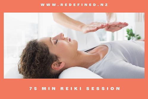 75 Min Reiki Healing Gift Voucher