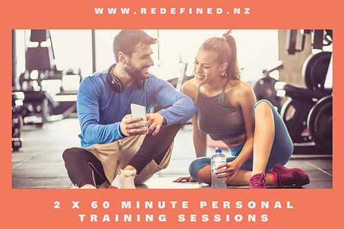 2 x 60 Min Personal Training Sessions Gift Voucher