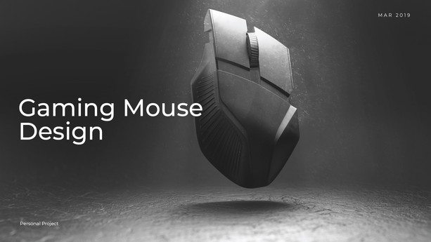Gaming Mouse Design
