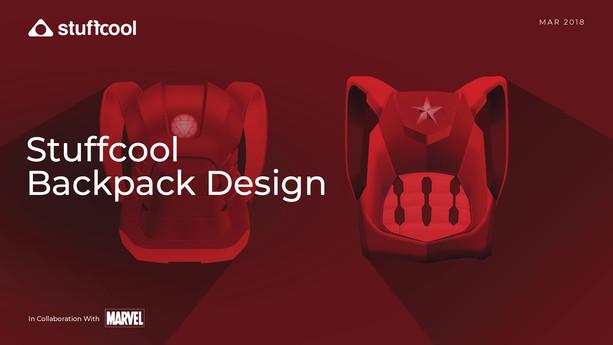 Stuffcool Backpack Design