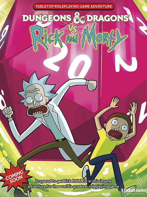 Dungeons and Dragons RPG: Dungeons & Dragons vs. Rick and Morty - Tabletop RPG