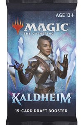 Magic the Gathering CCG: Kaldheim Draft Booster Single pack