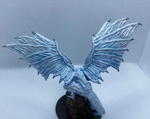 Silver dragon mini- pathfinder deep cuts