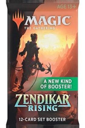 Magic the Gathering CCG: Zendikar Rising Set Booster single