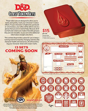 Dungeons and Dragons RPG: Token Sets