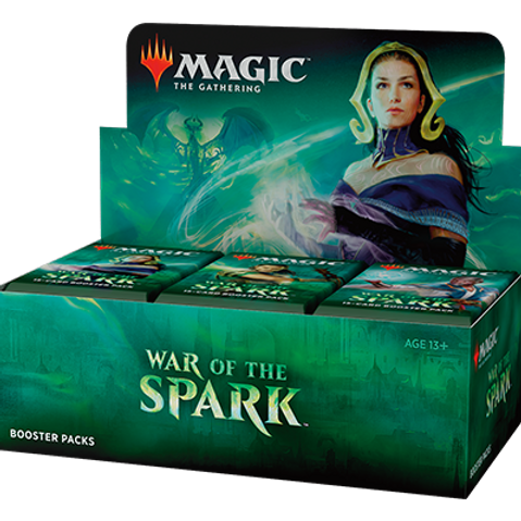 Magic the Gathering CCG: War of the Spark Booster Box