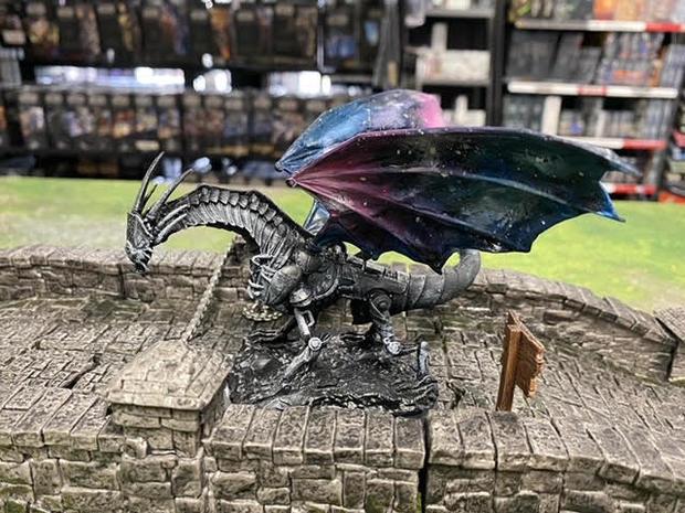 Galaxy Dragon (Pathfinder Battles Clockwork Dragon W9)
