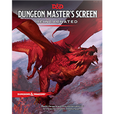 D&D RPG: Dungeon Master`s Screen Reincarnated Pre-