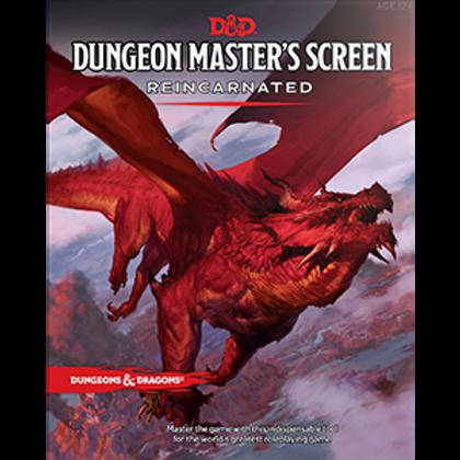 D&D RPG: Dungeon Master`s Screen Reincarnated Pre-