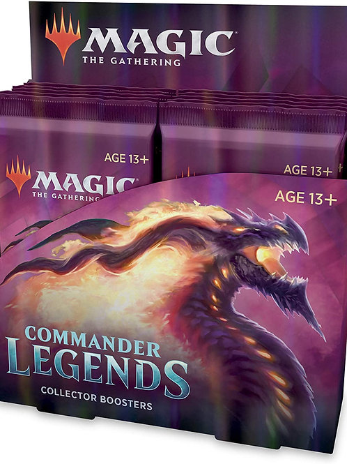 Magic the Gathering CCG: Commander Legends Collector Booster Display