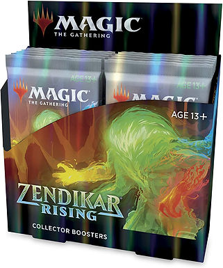 Magic: The Gathering Zendikar Rising Collector Booster box