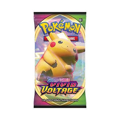 Pokemon TCG: Sword & Shield - Vivid Voltage Booster Pack