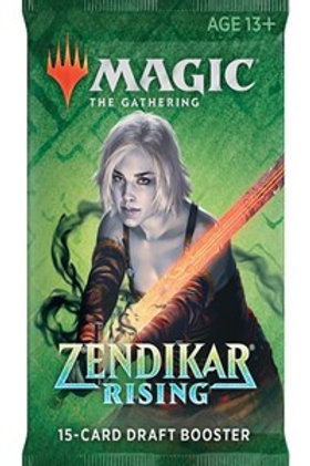 Magic the Gathering CCG: Zendikar Rising Draft booster