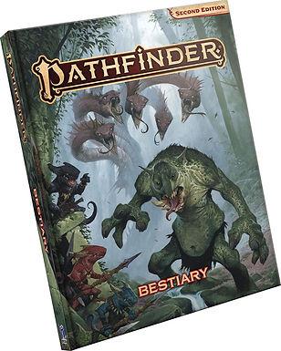 Pathfinder RPG: Bestiary Hardcover (P2)