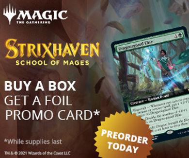 Magic the Gathering Strixhaven