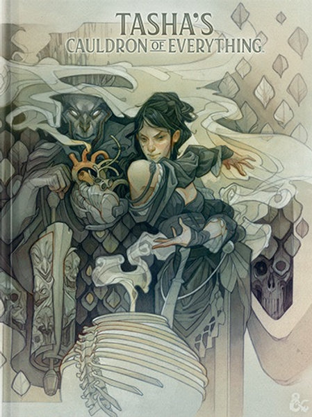 Dungeons and Dragons RPG: Tasha`s Cauldron of Everything-Alt. Cover