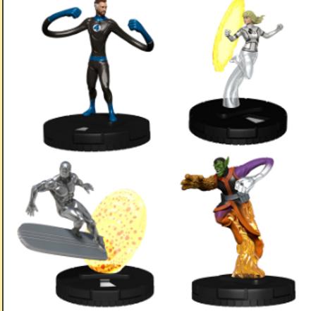 Marvel HeroClix: Fantastic Four Booster Brick