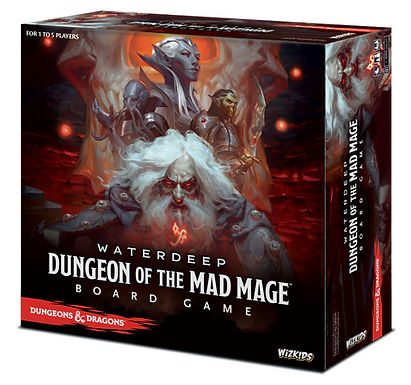 Dungeons & Dragons: Dungeon of the Mad Mage Adventure System Board Game
