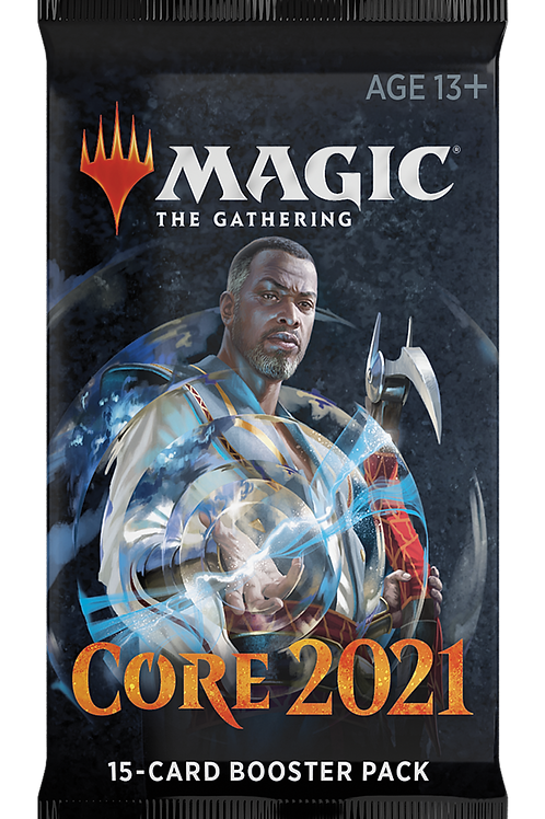 Magic the Gathering CCG: Core 2021 single booster