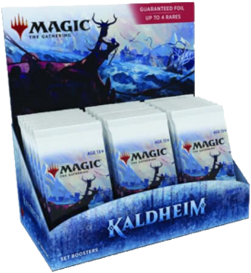 Magic the Gathering CCG: Kaldheim Set Booster Display