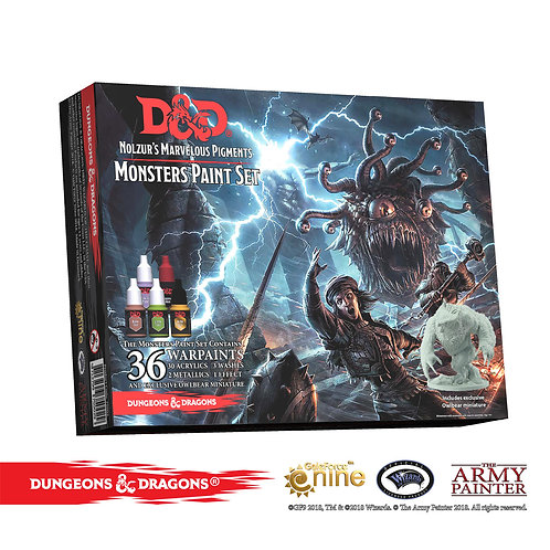 Dungeons & Dragons Nolzur`s Marvelous Pigments: Monster Paint Set
