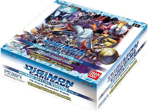 Digimon TGC: Release Special Booster Display Ver. 1.0 (24)