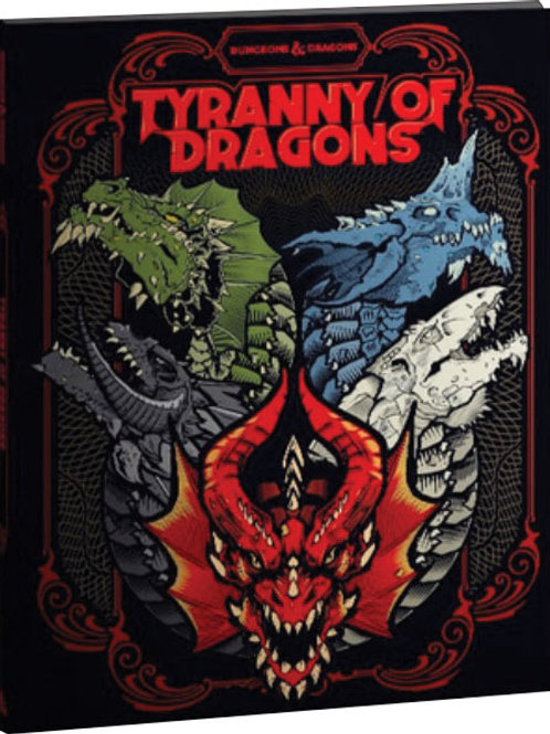 Dungeons and Dragons RPG: Tyranny of Dragons Alternate Cover (LE)