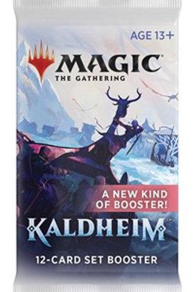 Magic the Gathering CCG: Kaldheim Set Booster Single pack