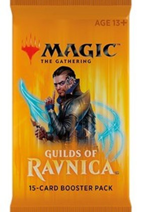 Magic the Gathering CCG: Guilds of Ravnica  Booster Pack