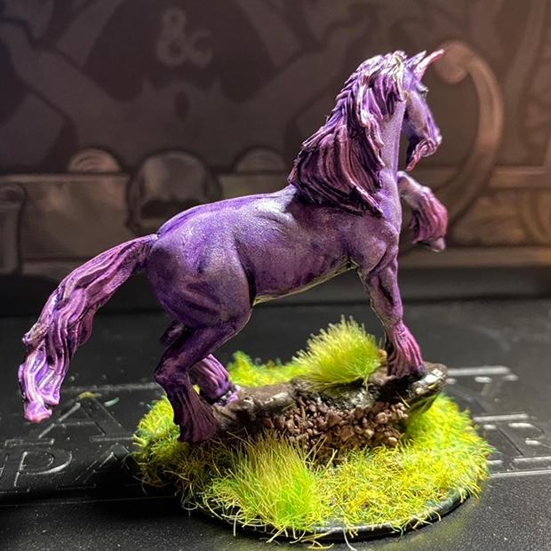 Pathfinder Deep Cuts wave 1 Unicorn (back)
