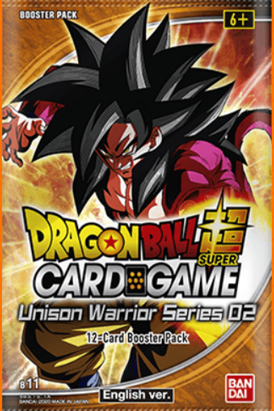 Dragon Ball Super: Unison Warriors - Set 2 Booster Display (24)
