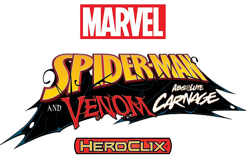 Marvel HeroClix: Spider-Man and Venom Absolute Carnage Booster Brick (10)