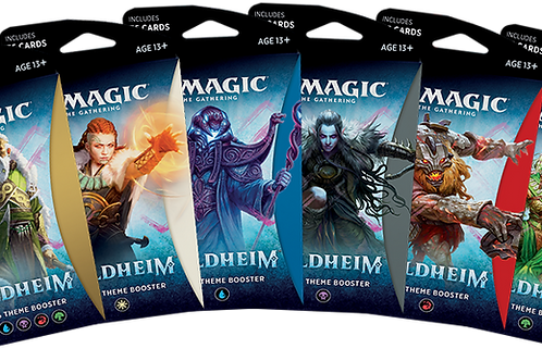 Magic the Gathering CCG: Kaldheim Theme Booster Single pack