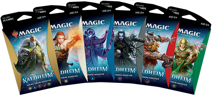 Magic the Gathering CCG: Kaldheim Theme Booster Single pack