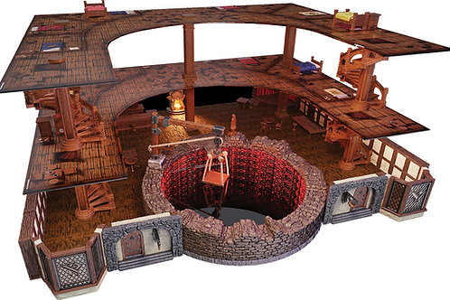D&D Fantasy Miniatures: Icons of the Realms Premium The Yawning Portal Inn