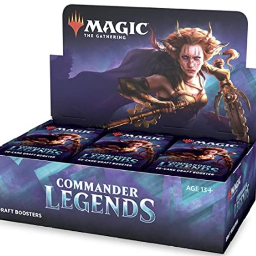 Magic the Gathering CCG: Commander Legends Booster Display (24)