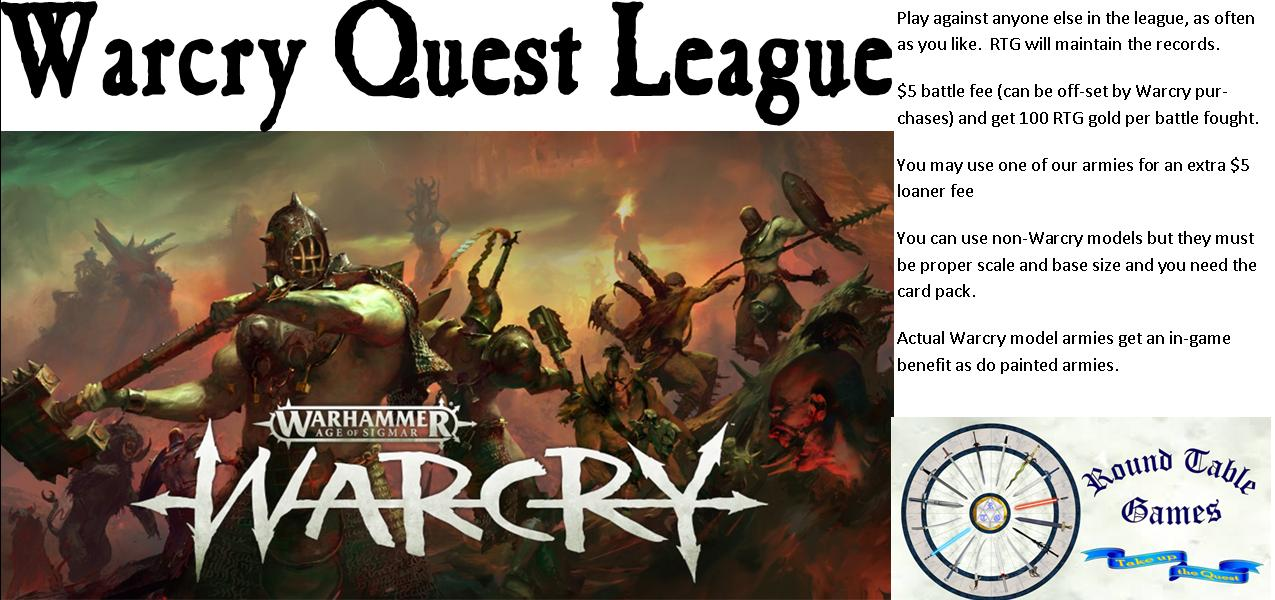 Warcry Quest League