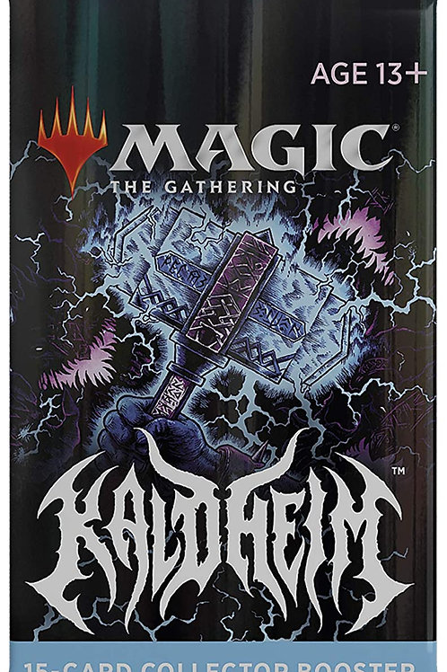 Magic the Gathering CCG: Kaldheim Collector Booster Single pack