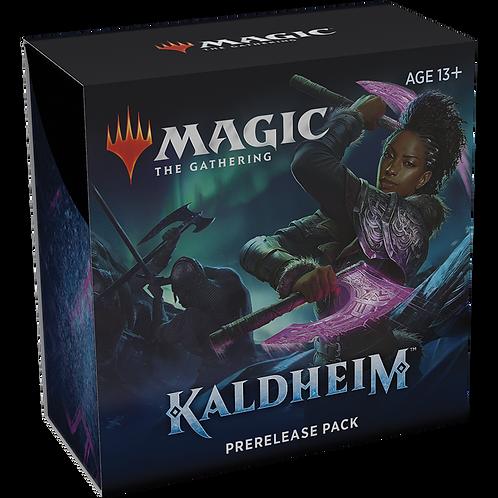 Magic the Gathering CCG: Kaldheim Pre-release kits