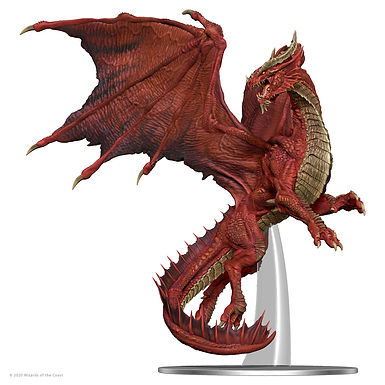 D&D Adult Red Dragon Premium Figure