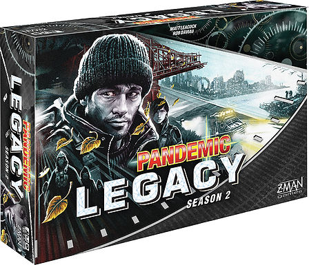 Pandemic: Legacy Season 2 - Black (stand alone)