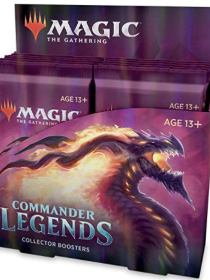 Magic the Gathering CCG: Commander Legends Collector Booster Display (12)