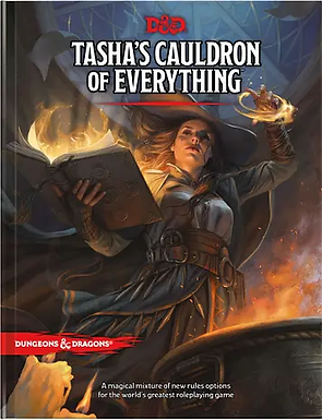 Dungeons and Dragons RPG: Tasha`s Cauldron of Everything
