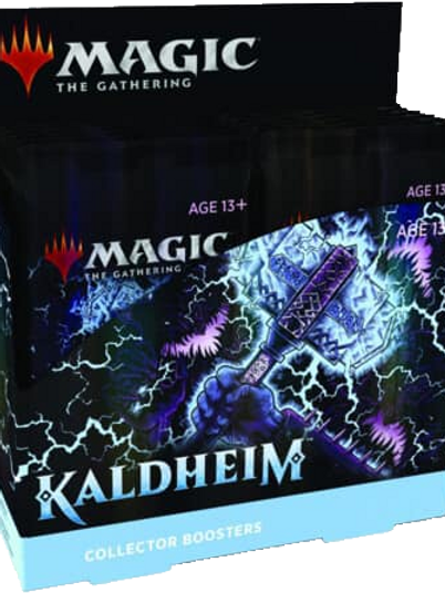 Magic the Gathering CCG: Kaldheim Collector Booster Display