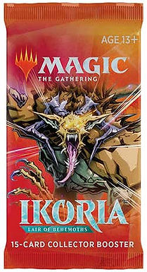 Magic the Gathering CCG: Ikoria - Lair of Behemoths Booster Single