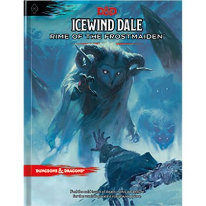 Icewind Dale: Rime of the Frostmaiden Standard Cover