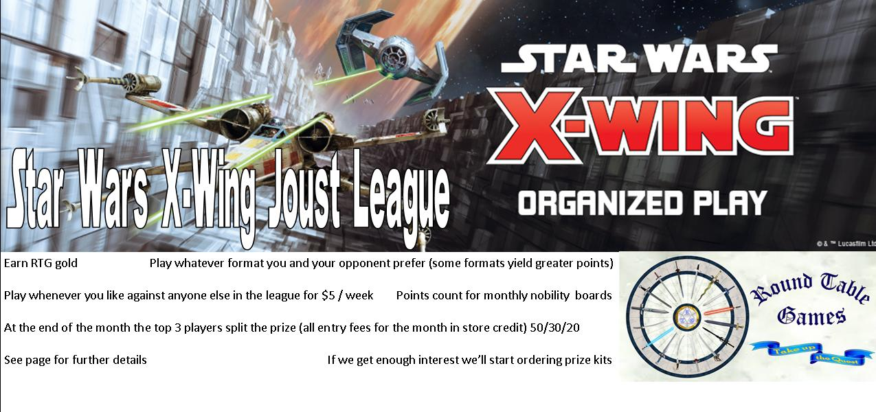 Star Wars X-Wing Joust League