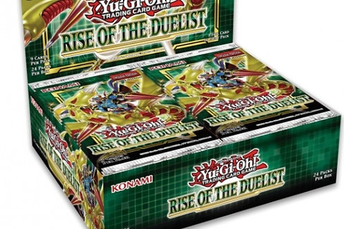 Yu-Gi-Oh! TCG: Rise of the Duelist Booster Display (24)