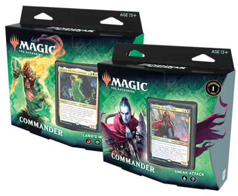 Magic the Gathering CCG: Zendikar Rising Commander Deck